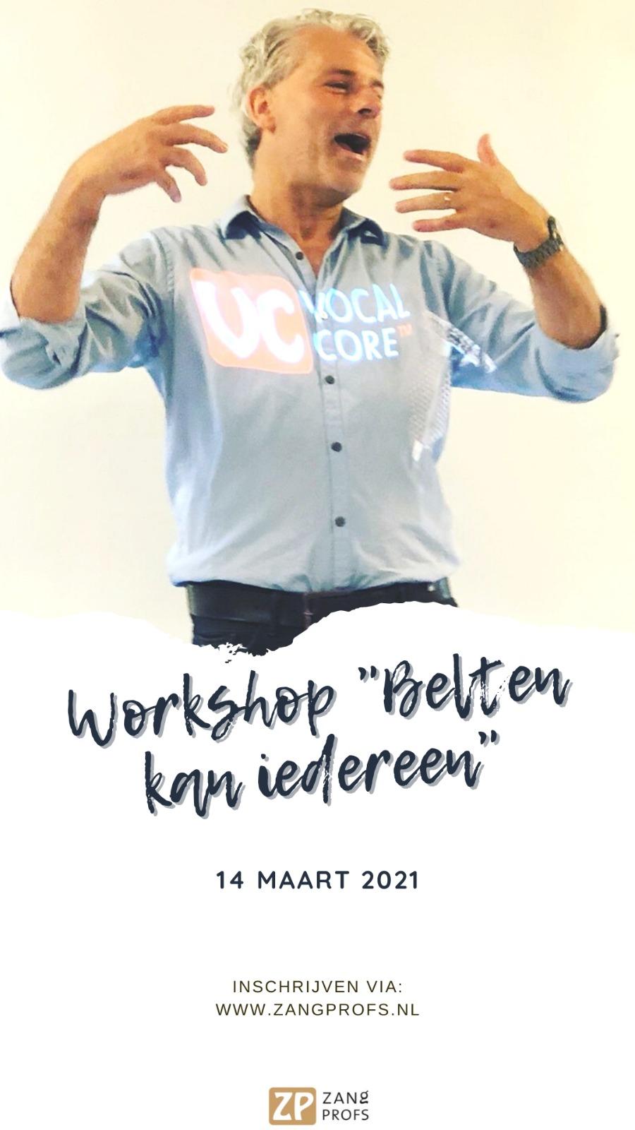 Workshop Belten